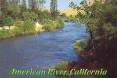 The American River in California
