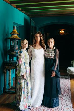 A Complete Look At The Wedding The Olsens Helped Make Possible #refinery29 http://www.refinery29.com/2014/07/72053/mary-kate-ashley-wedding-dress-molly-fishkin-asher-levin#slide12