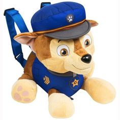 Stand out from the crowd with this Paw Patrol soft backpack! Now you can take you favourite Paw Patrol character everywhere, this backpack featu. Personajes Paw Patrol, Buy Toys, Kids Branding, Toys For Boys, Angry Birds, Spiderman, Avengers, Mickey Mouse, Plush