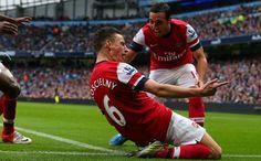 Laurent Koscielny (Arsenal) - Man City vs Arsenal 1-1, EPL 2012/2013