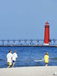 Grand Haven, Michigan.  From Minnesota to Ohio, towns along the Midwest's Great Lakes capture the summer vacation spirit. Here are some of our favorite Great Lakes getaways, with tips on exploring each one.