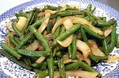 Todd's Green Beans Shared on https://www.facebook.com/LowCarbZen #LowCarb #Veggies #Sides