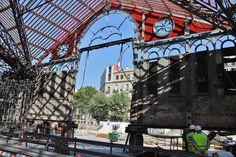 Rehabilitacion del Mercat de Sant Antoni, Barcelona