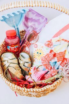 Easter sunday basket ideas easter baskets and easter the shift creative is giving us three unique ways to style an easter basket they include a basket for the budding artist as well as the lover of the beach negle Choice Image
