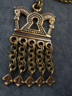 Bronz pendent from Finland kalevala Koru.  soon in the shop:www.charlottsjewelry.com