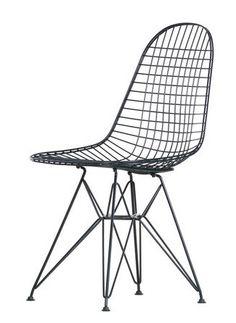 Vitra Wire stoel DKR - basic dark frame