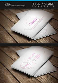 Styling Business Card   $6