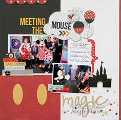 Project Ideas for Simple Stories - Say Cheese II Collection - Bits and Pieces with Foil Accents