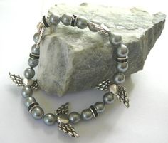 Fly on the Wings of Love - Stretch Bracelet by earthlifeshop, $24.00 USD