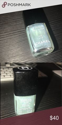 Chanel - Azur 465 - Nail Polish - Limited Edition Chanel Nail Polish - Azur 465 - Discontinued a long time ago. Found it in my infinite stash of nail polish. Makeup