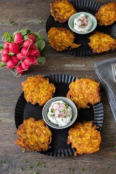 Kartoffel-Kürbis-Puf