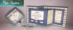 Hi and welcome to my first Paper Adventures Team Blog Hop Post for 2018! This blog hop is showcasing a masculine theme which is always challenging but fortunately in the Stampin' Up!® Occasions Catalogue there are some really nice stamp sets that suit this theme and make it a whole