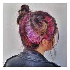 Gorgeous Stenciled Hair Art by Janine Ker, California, USA!