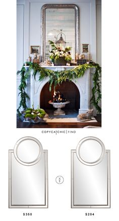 @luxedecorfurn Howard Elliott Cosmopolitan Arched Rectangle Mirror | $350 Vs @overstock Neopolitan Rectangle Vanity Mirror | $204