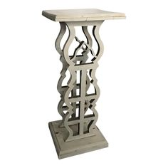 Vintage Painted Wood Plant Stand or Table - Image 1 of 11