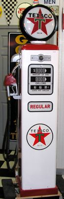 Reproduction Gas Pumps from Bob's Garage