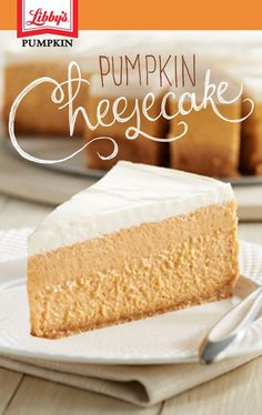 Give this classic dessert an unexpected twist with a dual layer of delicious pumpkin. Give this classic dessert an unexpected twist with a dual layer of delicious pumpkin. Thanksgiving Desserts, Fall Desserts, Delicious Desserts, Dessert Recipes, Thanksgiving Ideas, Christmas Desserts, Dessert Ideas, Baked Pumpkin, Pumpkin Recipes