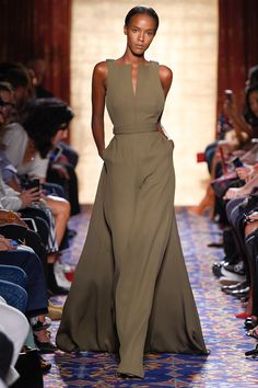 Brandon Maxwell | New York Fashion Week | Spring 2017 Model: Leila Nda