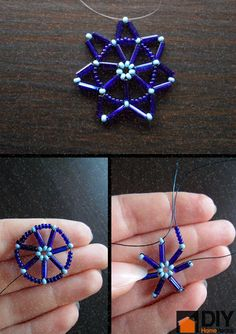 How To Make a Beaded Star From Wire