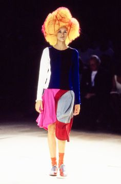 Comme des Garçons Spring 1996 Ready-to-Wear Fashion Show - Trish Goff