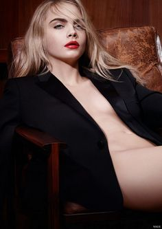 Cara Delevingne for YSL Rouge Pur Couture Kiss & Love Collection Fall 2015 #yslbeauty