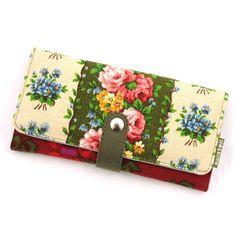 Huisteil portemonnee vintage