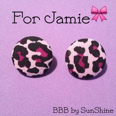 $7  Jamie's order $7  Jamie's order is ready! Thanks so much for your purchase! $3 earrings shown. http://buttonsbowsbeyond.bigcartel.com