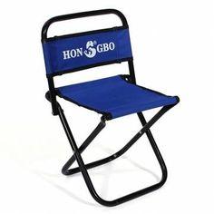 Portable Folding Chair Backrest Fishing Chair Small Blue Folding Stool