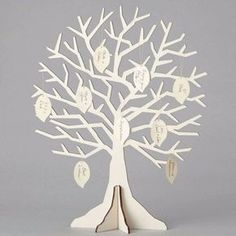 A dash of whimsy and a whole lot of 'wow' make this wedding DIY wishing tree kit an unforgettable detail at your wedding reception. Use as a contemporary guest book and invite all your guests to hang a wish upon a bough.