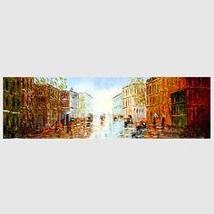 【今だけ☆送料無料】 アートパネル  自然・風景画1枚で1セット ヨーロッパ 街並み 建物 人々 プレゼント 【納期】お取り寄せ2~3週間前後で発送予定