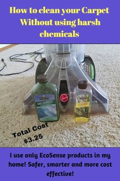 I cleaned a large living room, hallway and 2 bathrooms for only $3.25!  These products work~~  and they don't fill your home with toxins.