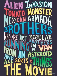 """Rick and Morty Two Brothers Handlettered Quote"""" T-Shirts & Hoodies ..."""