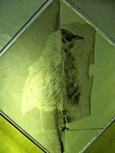 detaille vidriera uist, pintura