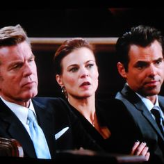 Jack, Phyllis, and Billy listen to Victor as he reminds Summer ...that he alone was responsible for seeking the right medical help to bring Phyllis out of her coma.