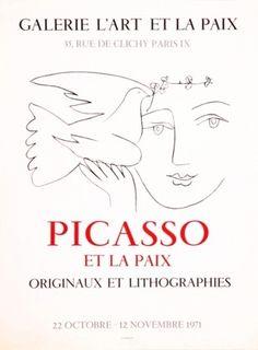 Pablo Picasso - Picasso et la paix