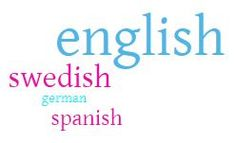 Language skills: English: Excellent, Swedish: Good, Spanish: Elementary, German: Elementary. My English skills are excellent due to living abroad, using it as working language and having an international circle of friends and family.