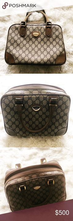 fd9d71c8beb903 VINTAGE GUCCI BAG VINTAGE GUCCI BAG NOTE: SHOWS SIGN OF WEAR Gucci Bags
