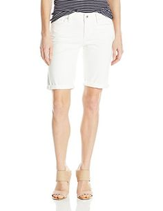 Lucky Brand Womens Denim Bermuda Short in White Cap 29 * You can find more details by visiting the image link. (This is an affiliate link) Shorts Outfits Women, Short Outfits, Floral Shorts, White Shorts, Spring Shorts, White Caps, Blue Denim Jeans, Graphic Tee Shirts, Lucky Brand