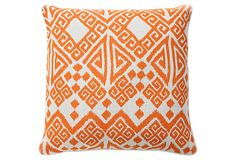 Tangier 22x22 Pillow, Orange on OneKingsLane.com