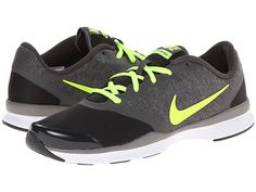 Nike Womens Free TR Connect 2 Black/Pure Platinum/Volt/Metallic Silver - Sneakers