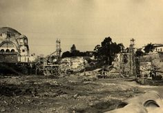 06-09-1935 - Construção do Viaduto Martinho Prado.