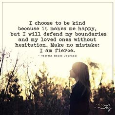 I choose to be kind - http://themindsjournal.com/i-choose-to-be-kind/