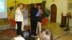 Sindaco Concetta Stanizzi, Don Roberto Corapi, Caterina Ezio  http://www.fabriziocatalano.it/2014-calabria-serate-destate-cercando-fabrizio-e/
