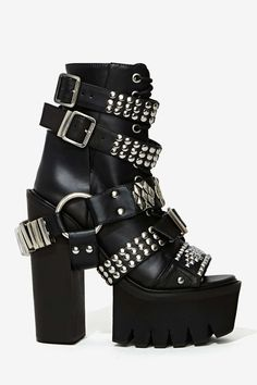Jeffrey Campbell Mestizo Studded Leather Boot