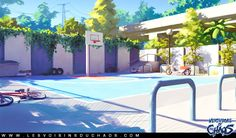 Basketball Ground by Tohad.deviantart.com on @deviantART