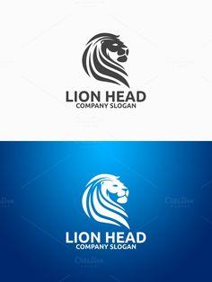 Lion Head Logo. Logo Templates. $29.00