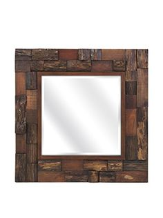 IMAX Lloyd Wood Slat Mirror -- Home decor details can be found by clicking on the image.