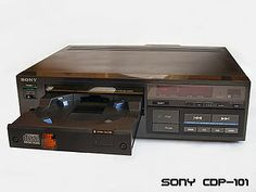 The world's first CD player. Yep, we made it.
