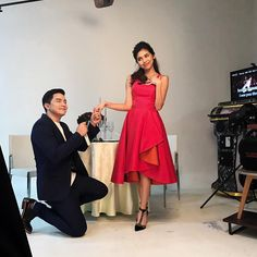 """""""Happy Valentine's Day from Maine and Alden! What Makes You Happy, Are You Happy, Alden Richards, Maine, Formal, How To Make, Style, Fashion, Preppy"""