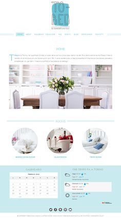 Bed and Breakfast website. Running on Naomi responsive WordPress theme from Bluchic. Visit site www.tobed.it